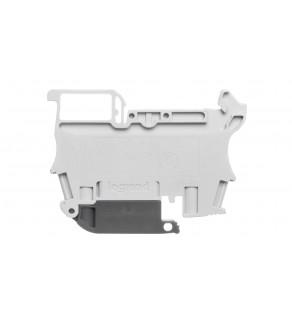 Złączka bezpiecznikowa 2,5mm2 szary 6.3A G 5x20 mm DIN 35mm 037181