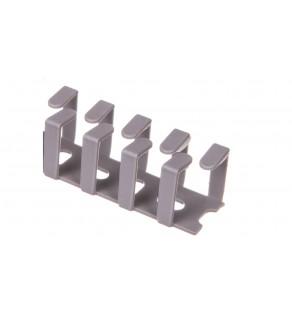 Korytko grzebieniowe elestyczne mocowane śrubami 20x20x500 szare /0.5m/ EC23403
