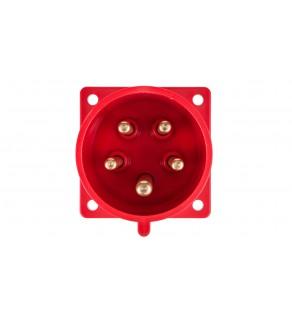 Wtyczka tablicowa 32A 5P 400V czerwona IP44 625-6