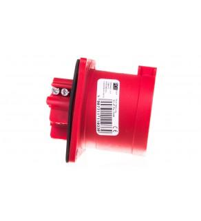 Wtyczka tablicowa 32A 4P 400V czerwona IP44 624-6