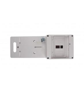 Tablica licznikowa 420x157mm 1F /S/ biała 0111-00