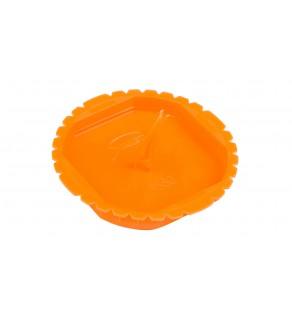 Pokrywa sygnalizacyjna puszek podtynkowych 60mm okrągła pomarańczowa PS 60 37083008 /50szt.