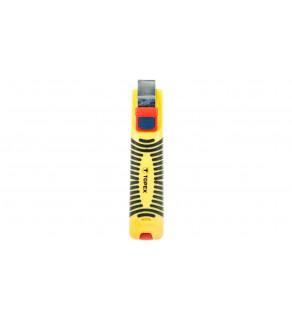 Ściągacz izolacji kabli i przewodów 130mm 8-28mm2 32D810