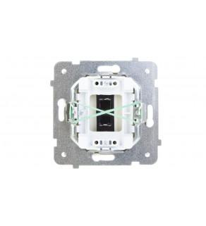 AS Gniazdo głośnikowe pojedyncze ecru GG-1G/m/27