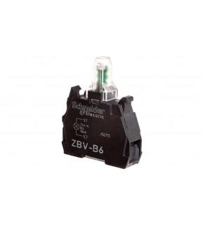Zestaw świetlny z diodą LED niebieski 24V AC/DC ZBVB6