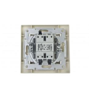 ASFORA Przycisk żaluzjowy kremowy EPH1300123