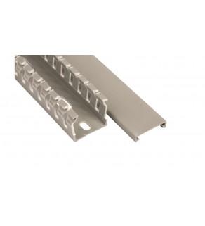 Korytko grzebieniowe KOPD 25X25/2 szare E02KK-01010200101 /2m