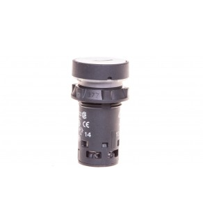 Przycisk sterowniczy 22mm biały z samopowrotem 1Z XB7NA11341