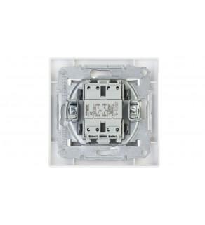 ASFORA Przycisk podwójny zaciski śrubowe biały EPH1100321