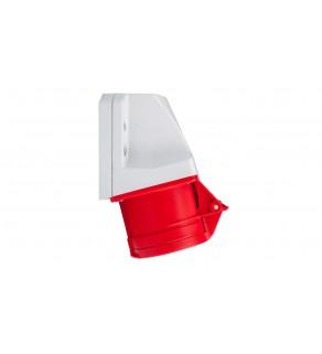 Gniazdo stałe 16A 5P 400V czerwone IP44 /mała obudowa/ 115-6k