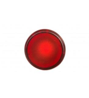 Główka lampki sygnalizacyjnej 22mm czerwona 024161