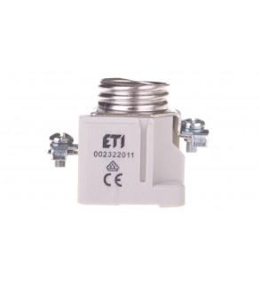 Gniazdo bezpiecznikowe na szynę 1P E27 DII 25A 500V EZV 25-ZP 002322017