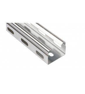 Korytko kablowe perforowane 35x30 grubość 0,5mm KGR/KPR35H30/2 130103 /2m