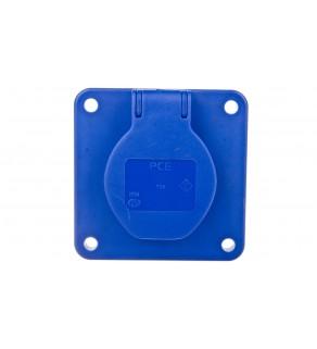 Gniazdo tablicowe 10/16A 2P+Z 230V niebieskie IP54 108-8bc