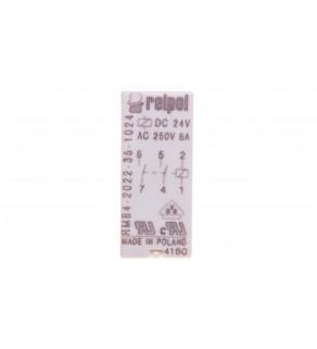 Przekaźnik miniaturowy 2Z 24V DC PCB AgNi RM84-2022-35-1024 600468