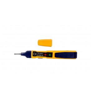 Tester napięcia LED 0-250V 2xLR44 MS-48A M0048