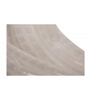 Wężyk ochronny spiralny WSN 6 transparentny E01WS-01010100250 /10m
