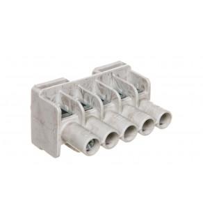 Listwa zaciskowa do puszek 5-torowa 1,5-6 mm2 Cu szara DKL 04 2600055