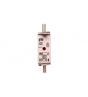 Wkładka bezpiecznikowa KOMBI NH00C 25A gG/gL 500V WT-00C 004181207