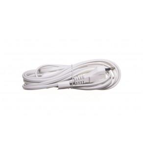 Przewód przyłączeniowy wyłącznikiem KF-HK-1 H03VVH2-F 2x0,75 3m biały S08273