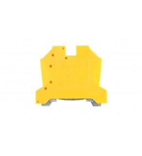 Złączka szynowa ochronna 6mm2 zielono-żółta EURO 43450E