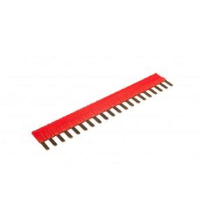 Mostek grzebieniowy 20-zębowe czerwone ZG20-1 2608954