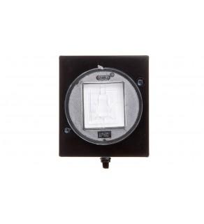 LAMBDA Przycisk hermetyczny /światło/ IP44 czarny ŁNH-5LC/25