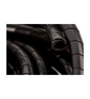 Wężyk ochronny spiralny WSN 6/S czarny E01WS-01010200200 /10m