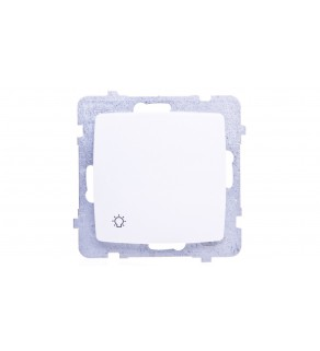 KARO Przycisk /światło/ biały ŁP-5S/m/00