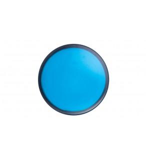 Główka lampki sygnalizacyjnej 22mm niebieska IP66 ZB5AV063
