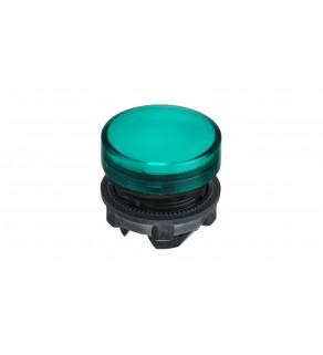 Główka lampki sygnalizacyjnej 22mm zielona ZB5AV033