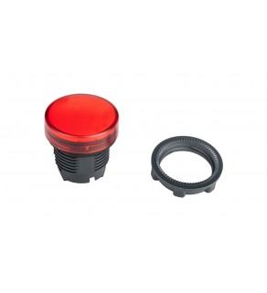 Główka lampki sygnalizacyjnej 22mm czerwona ZB5AV043