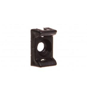 Podstawka montażowa do opasek 8,5x13,8mm czarna PMP-03-3-UV-100 25.233 /100szt.