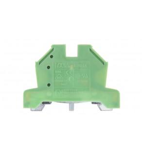 Złączka szynowa ochronna 4mm2 zielono-żółta 2,5/4 43454