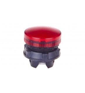 Główka lampki sygnalizacyjnej 22mm czerwona BA9S ZB5AV04