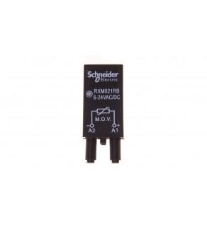 Układ ochronny warystor 6-24V AC/DC do gniazda miniaturowego RXM021RB