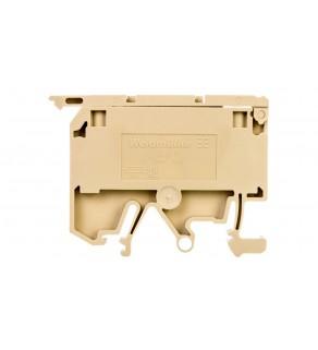 Złączka szynowa bezpiecznikowa 2-przewodowa 4mm2 G 5x20mm beżowa ASK 1/EN 0474560000