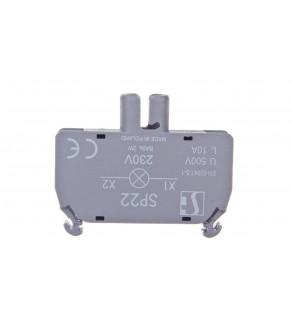 Oprawka lampki żarówka BA9s 230V AC bez lampki SP22-1435R02