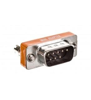 Adapter RS232 null-modem Typ DSUB9/DSUB9 M/Ż AK-610513-000-I