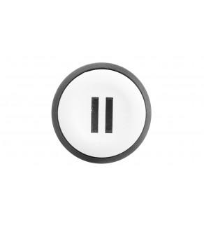 Napęd przycisku biały /II/ z samopowrotem ZB5AA136