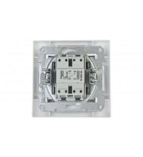 ASFORA Łącznik schodowy zaciski śrubowe biały EPH0400321