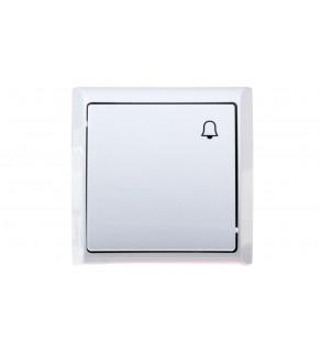 BIS Przycisk /dzwonek/ biały ŁN-6B/00