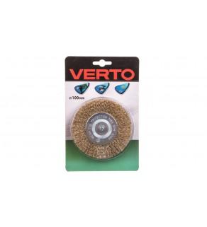 Szczotka druciana tarczowa z trzpieniem 100 mm 62H321