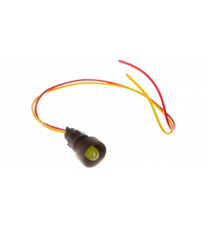 Lampka sygnalizacyjna 10mm żółta 12-24V AC/DC KLP 10Y/24V 84410004