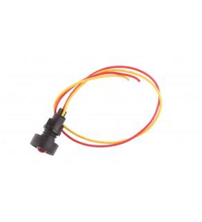 Lampka sygnalizacyjna 10mm czerwona 12-24V AC/DC KLP 10R/24V 84410001
