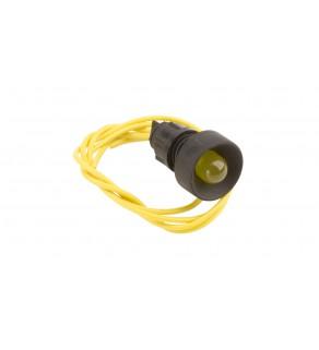 Lampka sygnalizacyjna 10mm żółta 230V AC KLP 10Y/230V 84510004