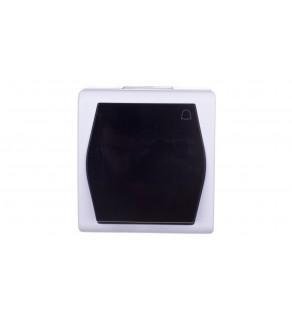 Hermes2 Przycisk hermetyczny dzwonek 10A IP44 szary 1005-01