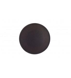 Wkładka do przycisku 22mm płaska czarna bez opisu 22mm M22-XD-S 216421
