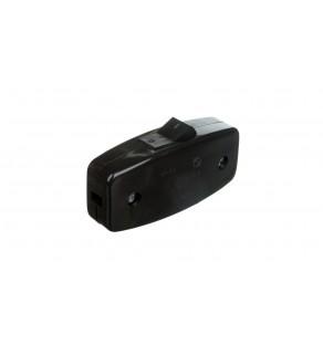ELDA Łącznik miniaturowy 2.5A czarny WP8A05