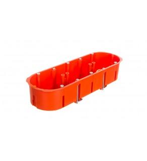 Puszka 3x 60mm p/t regips pomarańczowa PK-3x60 0234-00